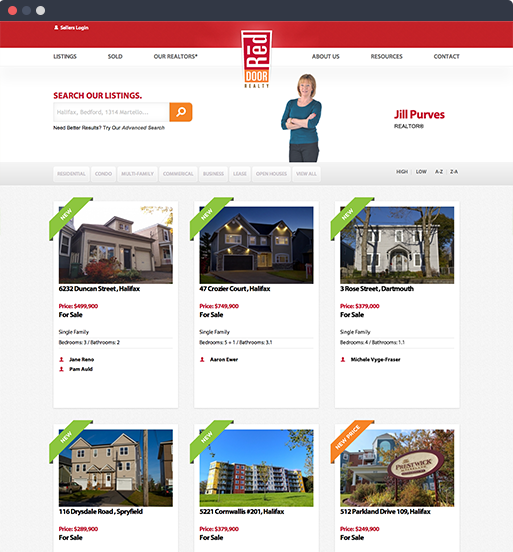 Red Door Realty company